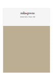 Mila Gowns Strech Satin Color Swatches - Khaki