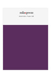 Mila Gowns Strech Satin Color Swatches - Purple