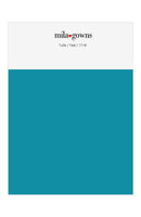 Mila Gowns Tulle Color Swatches - Teal