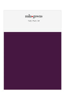 Mila Gowns Tulle Color Swatches - Plum