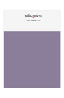 Mila Gowns Tulle Color Swatches - Heather