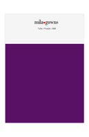 Mila Gowns Tulle Color Swatches - Purple