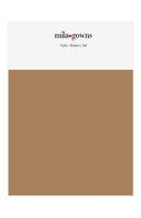 Mila Gowns Tulle Color Swatches - Brown