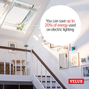 Velux Centre-pivot roof windows in hallway area