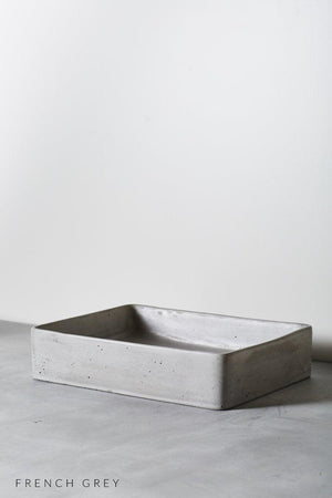 French grey Lux basin