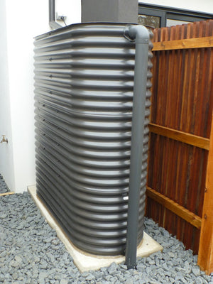 Skinny Slimline tank with submersible pump