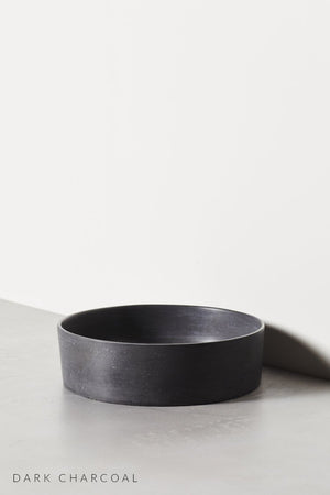 Dark Charcoal Halo basin