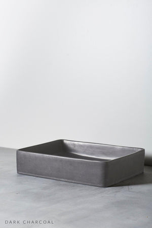 Dark Charcoal Lux Basin