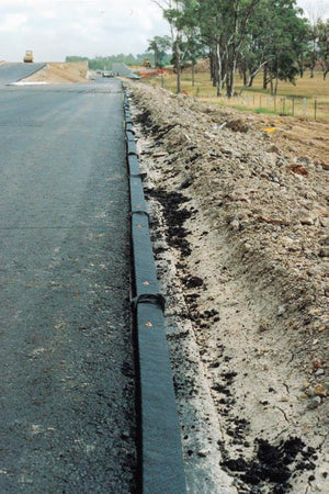 Installed flo pipe on roadside