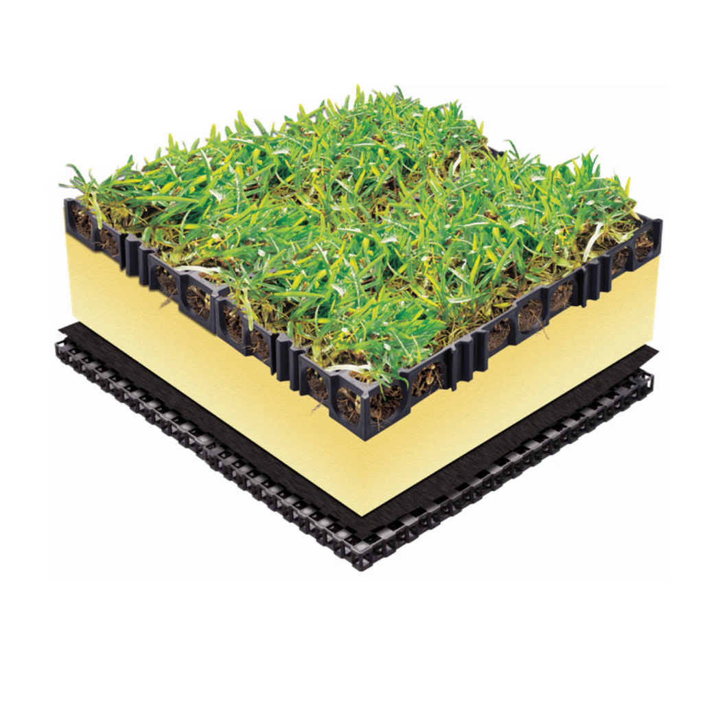 the Turf cell image is actually our drainage cell. The drainage cell is used to create turf cell