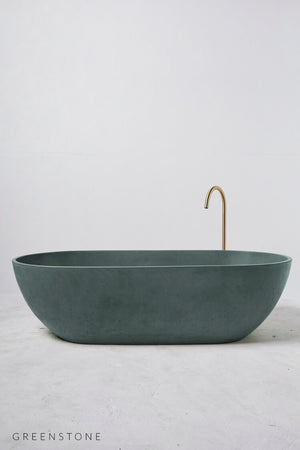 Valencia bath green stone