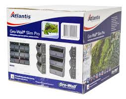 the gro wall slim pro vertical garden system comes in a box, and is able to be shipped anywhere in Australia from the Gold Coast