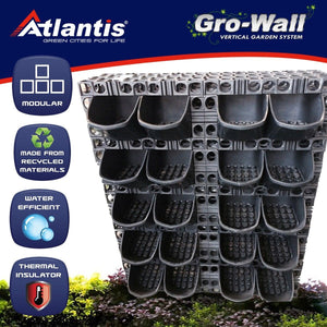 Gro wall vertical garden Gro wall pro Gold coast
