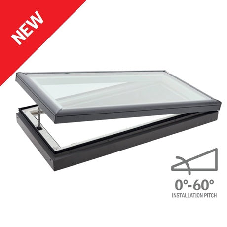 Velux manually operated skylight