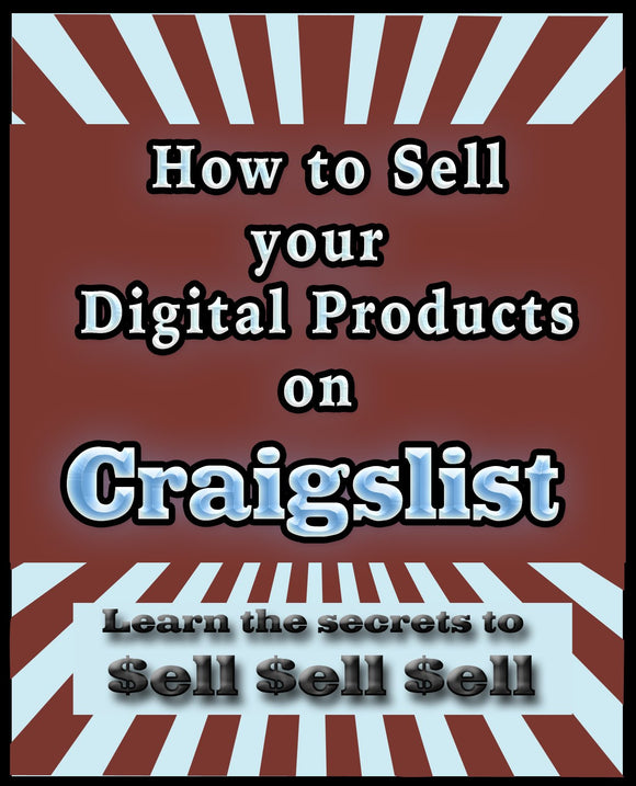 How to Sell Digital Products on Craigslist.org Ebook PDF - Bysah