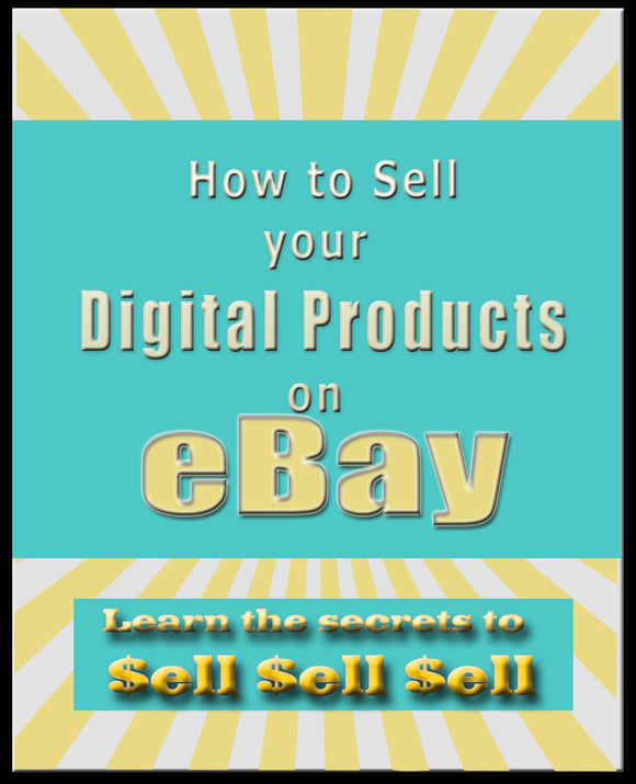 How to Sell Digital Products on eBay.com Ebook PDF - Bysah