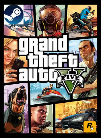 Grand Theft Auto V   Steam Key Global - Bysah