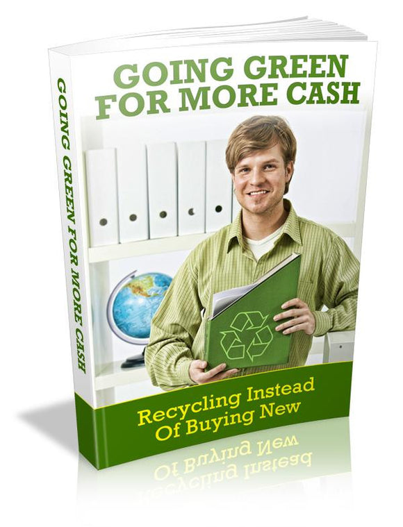 Going Green For More Cash Ebook PDF - Bysah