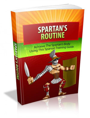Spartan Routine Ebook PDF - Bysah