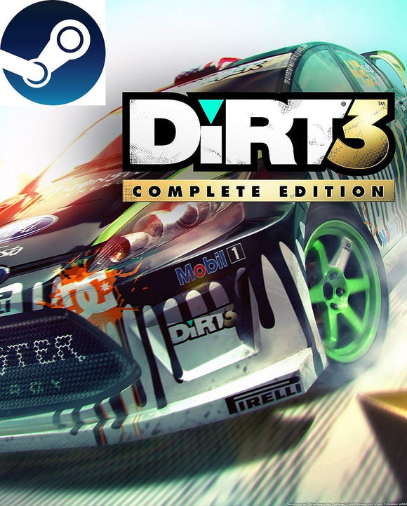 Dirt 3 Complete Edition Steam Key Global - Bysah