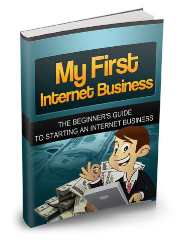 My First Internet Business Ebook PDF - Bysah