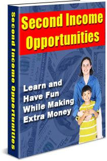 Second Income Opportunities Ebook PDF - Bysah