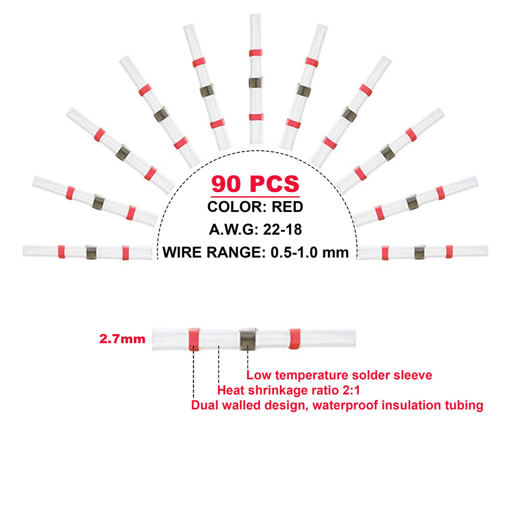 SOLDER SEAL WIRE CONNECTOR - 250 PCS