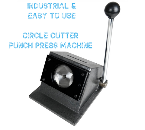 Circle Cutter Punch Press Machine