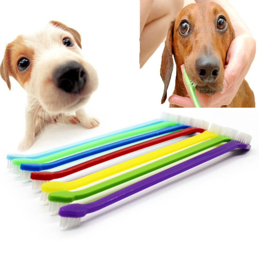 1PCS Pet Cat Dog Tooth Finger Brush Dental Care For Pet Toothbrush Toothbrushes JULY6