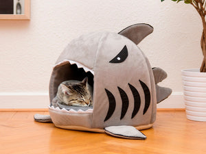 1Piece Soft Dog House For Dogs Warm Shark Dog House Tent High Quality Cotton Small Dog Cat Bed Puppy House Pet Product