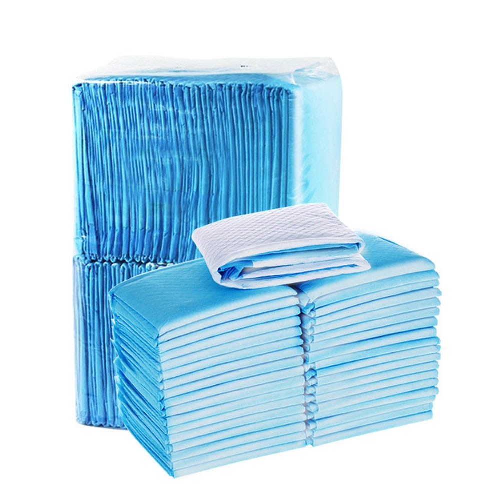 20 PCS /Bag New Super Absorbent Diaper Pet Dog Training Urine Pad Pet Diapers  deodorant antibacterial Pet Dog Nappy