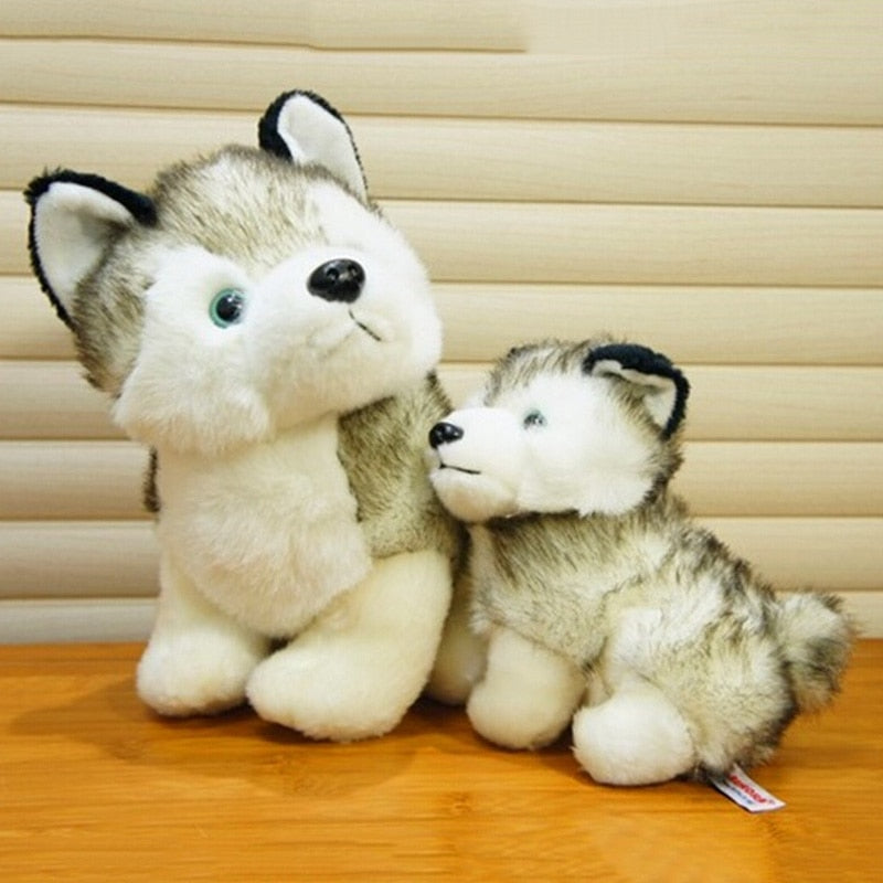 2016 NEW   18 cm HUSKY CUTE DOG STORM KEEL TOYS PLUSH SOFT TOY PUPPY for Child Kids Doll gift