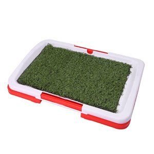 2018 Pet Dog Potty Toilet Urinary Trainer Grass Mat Pad Patch Indoor Outdoor Home New S7_21