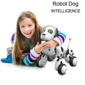 2018 fashion RC Sma Dog toy Sing Dance Walking Remote Control Robot Dog Electronic Pet Kids Toy dropshipping