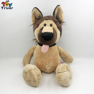 35cm Simulation Plush Wolf dog Toy Stuffed Shepherd Puppy Dogs Doll Baby Kids Children Birthday Gift Home Shop Decor