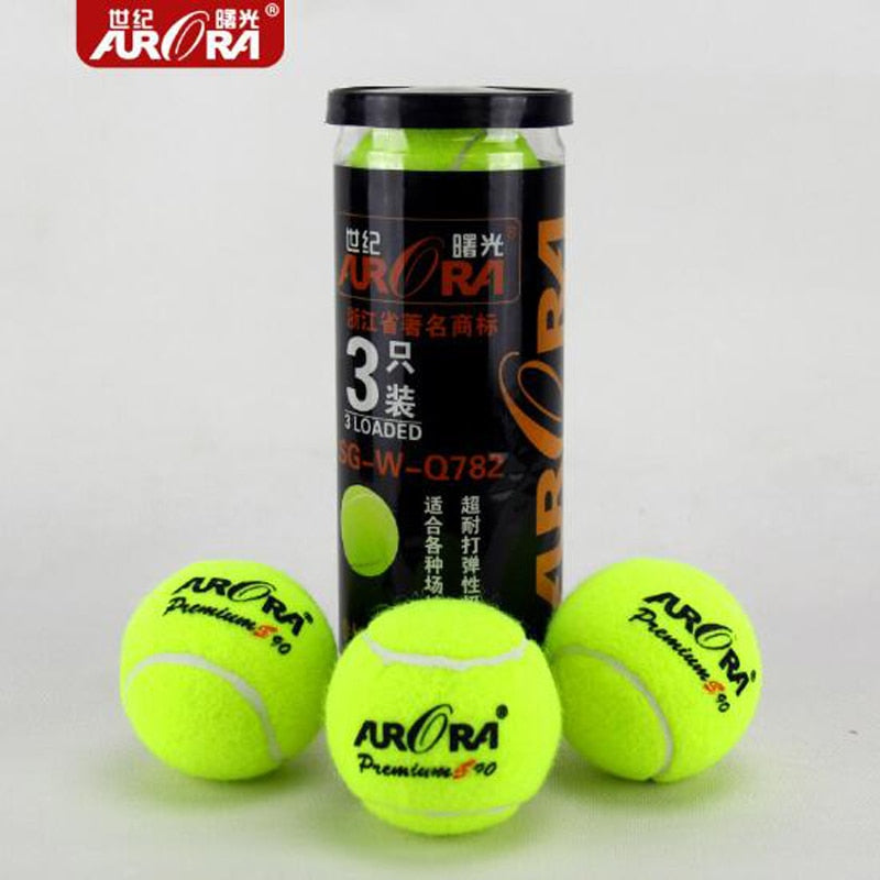 3Pcs/pack Professional Tennis Ball Super High Elastic 65mm Diameter PremiumTennis Ball Dog Training Retriever Nature Rubber Ball