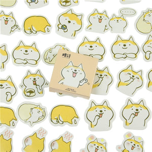 45 Pcs/lot Cute Dogs Decorative DIY Diary Stickers  Kawaii Planner Scrapbooking Sticky Stationery Escolar School Supplies