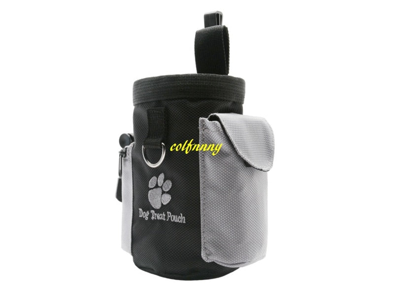 50pcs/lot Fa shipping Dog Pet Puppy Obedience Agility Bait Training Food Treat Pouch Bag Dispenser Snack Reward Wai Bag