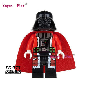 50pcs starwars Hot Dog Man collectable building blocks action  bricks friends for girl boy house games kids children toys