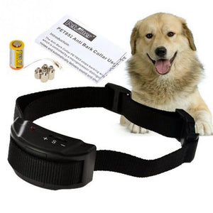 Anti Bark Stop Controller No Barking Remote Electric Shock Vibration Dog Pet Training Collar