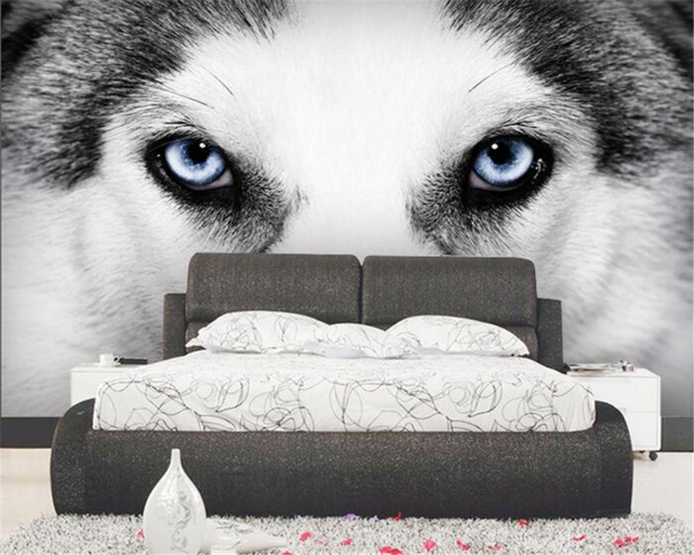 wallpaper for walls 3D Dog Eyes mural Room TV Background Wall mural Living Room Decorative Wallpaper papel de parede