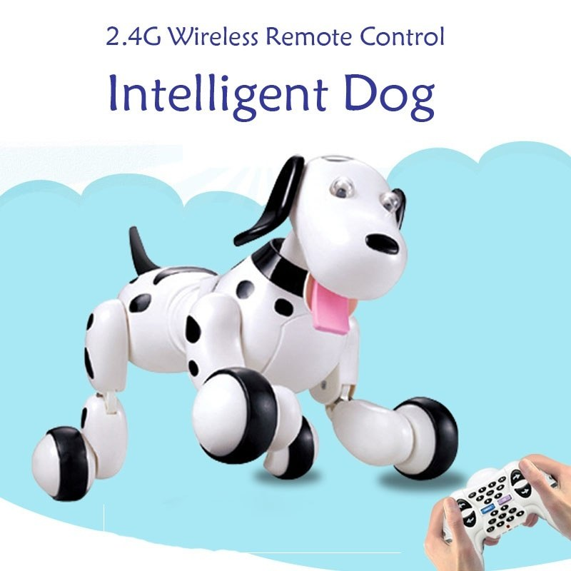Electric Educational Toys 2.4G Programmable Wireless Remote Control Simulation Intelligent Dog Robot Sma Dog Electronic Pets