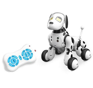 New LED light 9007A Intelligent RC Robot Dog Toy Remote Control Sma Dog Kids Toys Cute Animal Gifts For Children Birthday