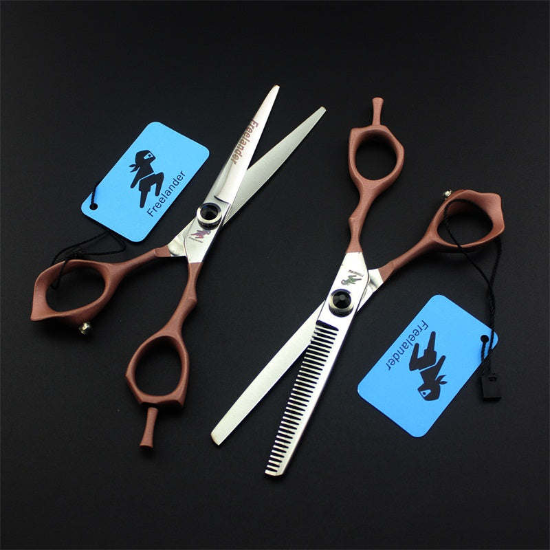 New Professional 6 Inch  Pet Dog Grooming Scissors Set Pet Clipper Straight Thinning Shears