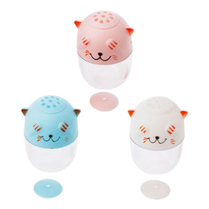 Newe Cartoon Cat Toothpick Holder Spice Can Seasoning Box Food Fruit Pick Organizer JAN9