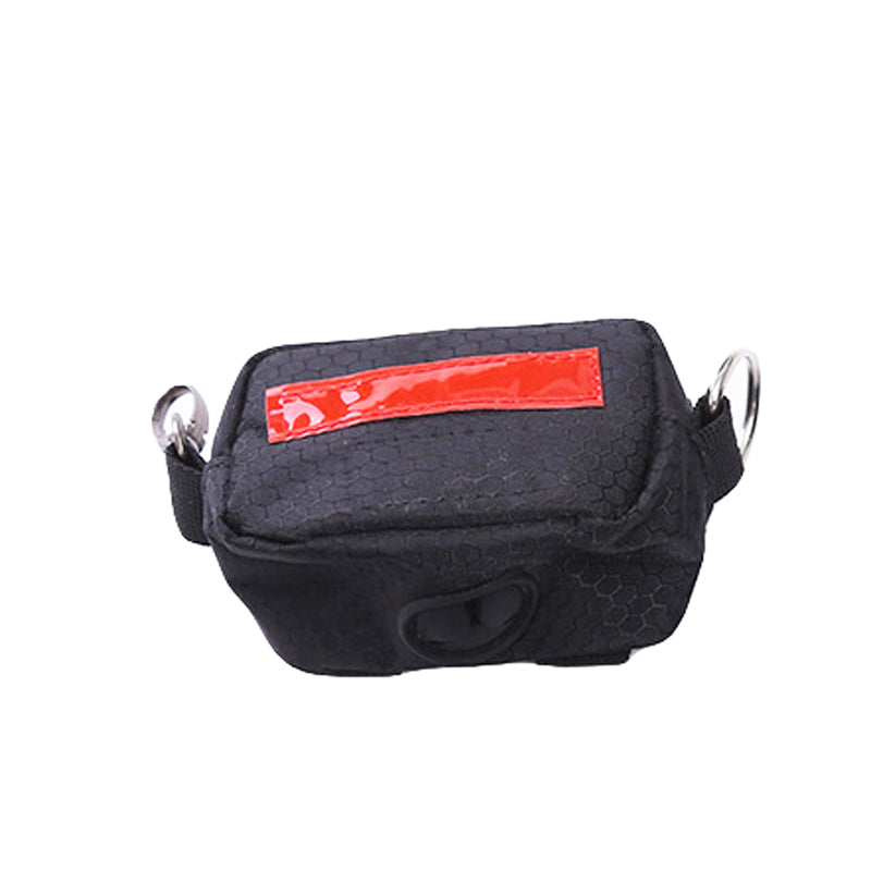 Outdoor Carrying Bags Pet Dog Portable Waste Bag Pet Poop Holder Hook Pouch with Garbage Bag Pet Cleaning Accessories