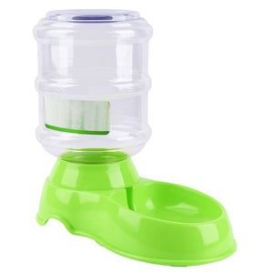 Pet Dog Cat Plastic 3.5L Water Dish Automatic Feeder  Food Bowl Dispenser Portion Control Pet Puppy Kitten Feeding Tools