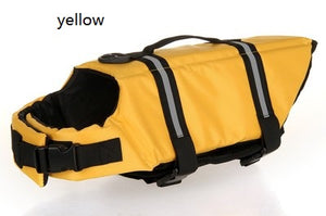Pet Dog Life Jacket Pet Life Jacket Safety Clothes for Pet Life Ve Dog Swimwear Pet Safety Swimsuit Dog swimming Suit