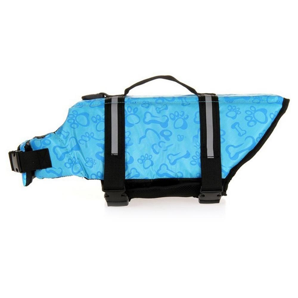 Pet Dog Life Jacket Safety Clothes Life Ve Collar Harness Saver Pet Dog Swimming Preserver Clothes Summer Swimwear