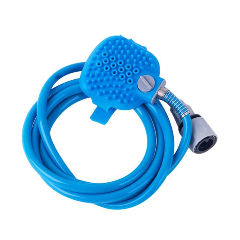 Pet Dog Puppy Bath Shower Head Multifunction Fur Hair Cleaning Water Sprayer Head Pet Grooming Bathing Tool